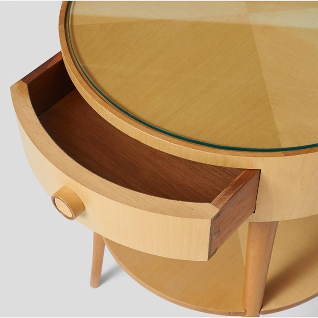 Wood Pair of Joaquim Tenreiro Side Tables For Sale - Image 7 of 10