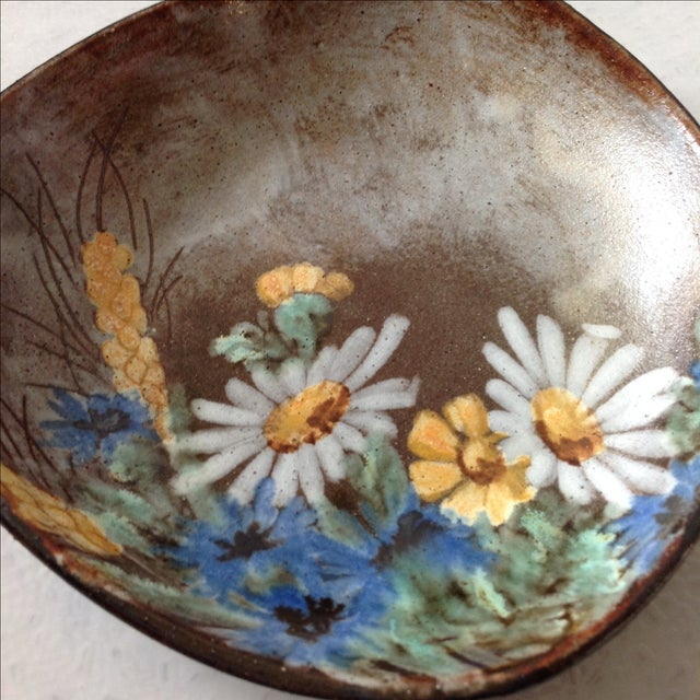 Alexandre Kostanda French Art Pottery Bowl - Image 8 of 11