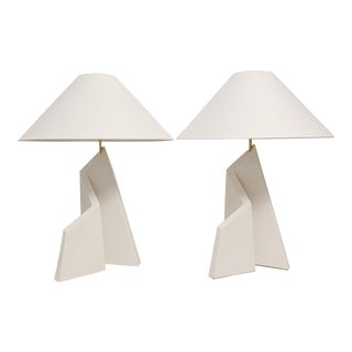 Pair of Vintage Boyd Lighting Sculptural Table Lamps For Sale
