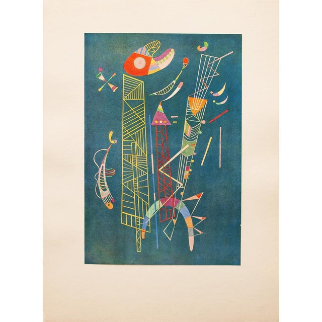 1947 Wassily Kandinsky, Construction Legere Parisian Plate For Sale - Image 9 of 10