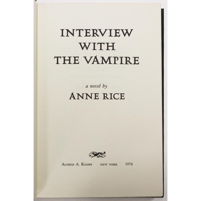 Interview with the Vampire, First Edition - Image 4 of 5