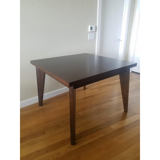 West Elm West Elm Anderson Solid Wood Expandable Table For Sale - Image 4 of 4