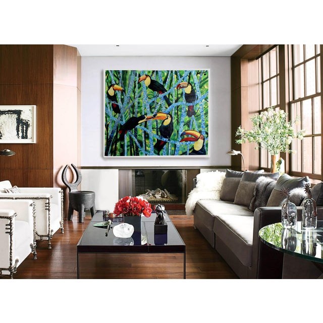 Ramphastos Fantasia Acrylic Painting - Image 7 of 10
