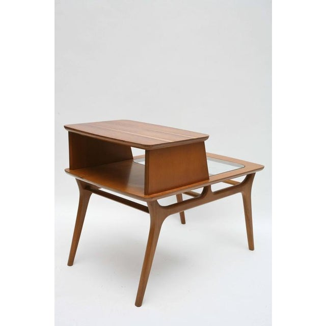 1960s Heywood-Wakefield Two-Tiered Side Tables, 1960s, Usa For Sale - Image 5 of 10