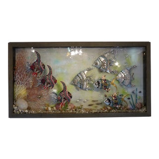 """""""Fish Tank"""" Wall Sculpture by Kim Moorehouse For Sale"""