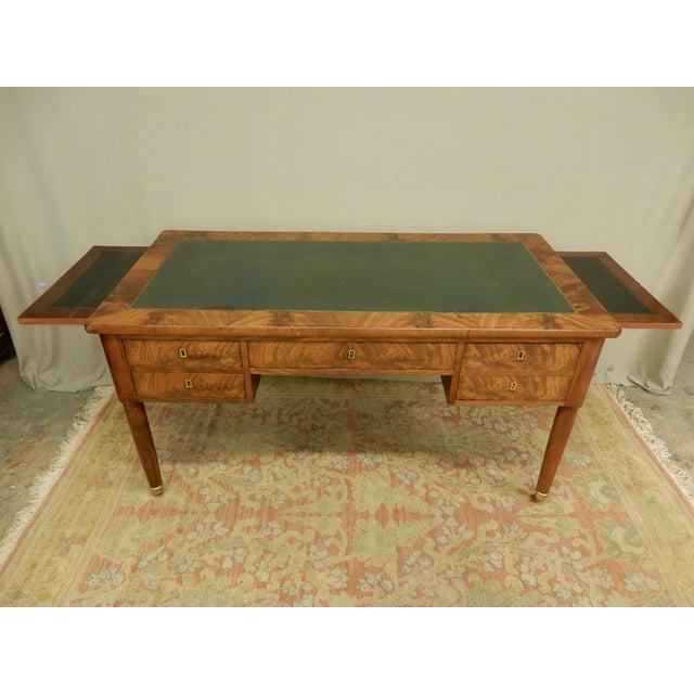 Elegant Louis XVI 19th Century Walnut Desk For Sale - Image 11 of 11