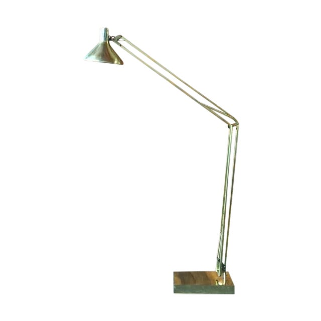 Vintage Oversize Architect's Task Lamp - Image 1 of 6