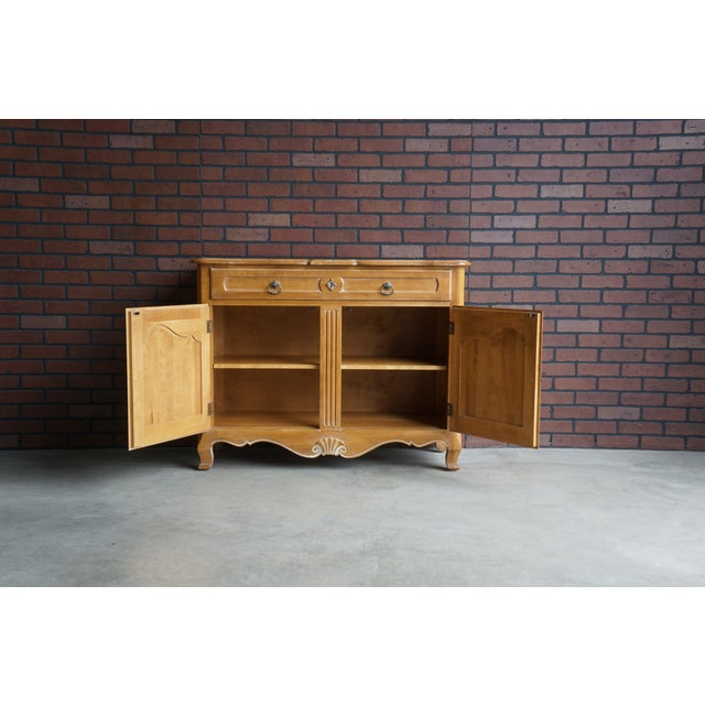 Ethan Allen Country French Server For Sale - Image 9 of 11
