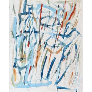 """""""We Could Just Say It Now"""" Contemporary Abstract Expressionist Mixed-Media Painting by Brenna Giessen For Sale"""