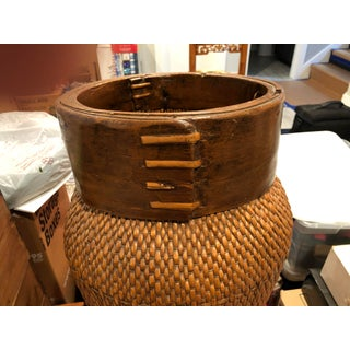 Antique Chinese Bamboo Basket Preview
