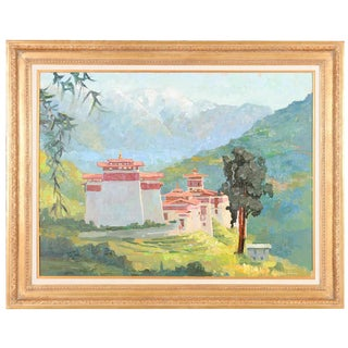 Tonza Tzong Monastery by Peter Adams For Sale