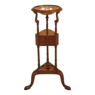Kittinger Williamsburg Mahogany Basin Stand For Sale