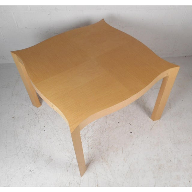 Mid-Century Modern Mid-Century Modern Lacquered Game Table For Sale - Image 3 of 13