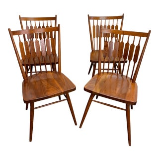 1960's Vintage Drexel Declartion Dining Chairs- Set of 4 For Sale