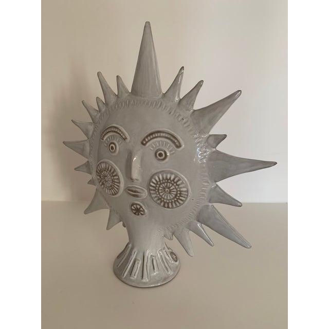 Boho Chic Jonathan Adler Utopia Sun Vase For Sale - Image 3 of 13