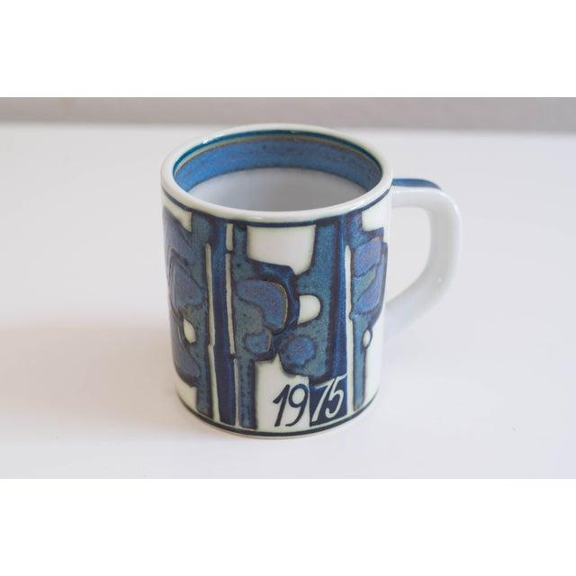 Danish Modern Vintage Danish Royal Copenhagen Annual Mugs - Set of 14 For Sale - Image 3 of 11