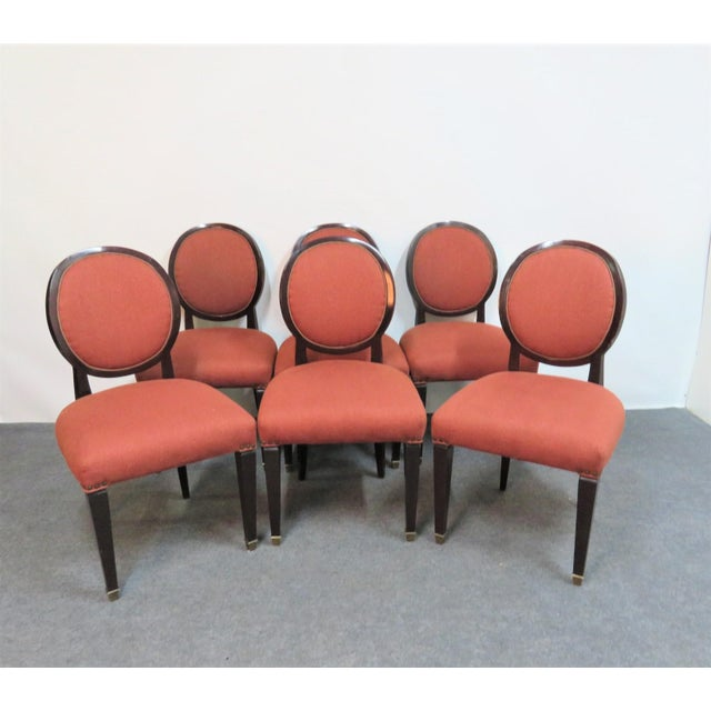 John Widdicomb Hepplewhite Dining Chairs - Set of 6 - Image 8 of 8
