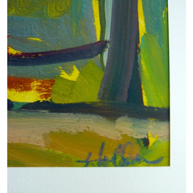 """""""Spring Forest"""" Painting by Martha Holden - Image 4 of 6"""