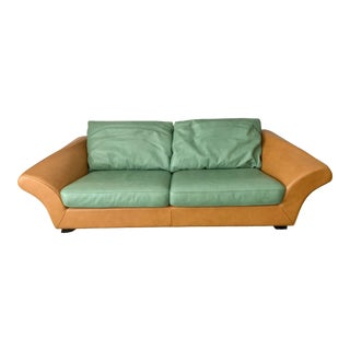 Postmodern Roche Bobois Sofa - Custom Made For Sale