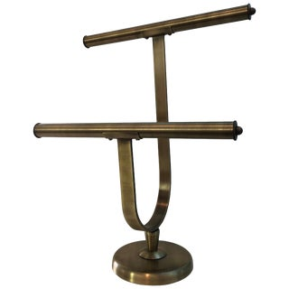 Vintage Brass Jewelry or Tie Holder by Charles Hollis Jones For Sale