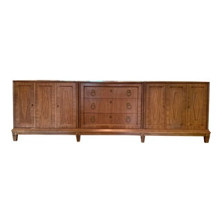 Vintage Monumental Buffet by American of Martinsville. For Sale