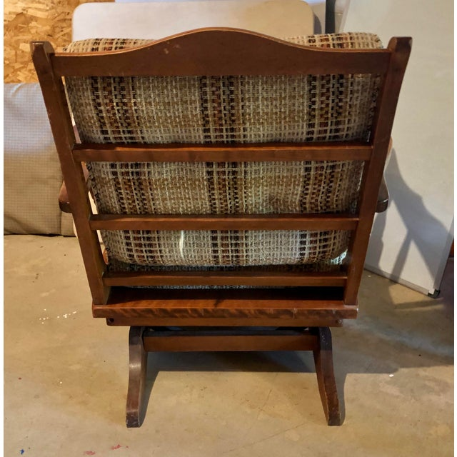 1960s Mid-Century Modern Rocking Chair For Sale - Image 5 of 8