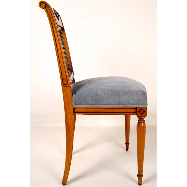 Empire-Style Dining Chairs - Set of 6 - Image 6 of 10