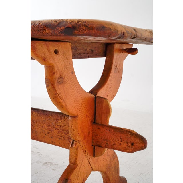 Mid 19th Century Swedish Rural Pinewood Table, 19th Century For Sale - Image 5 of 7