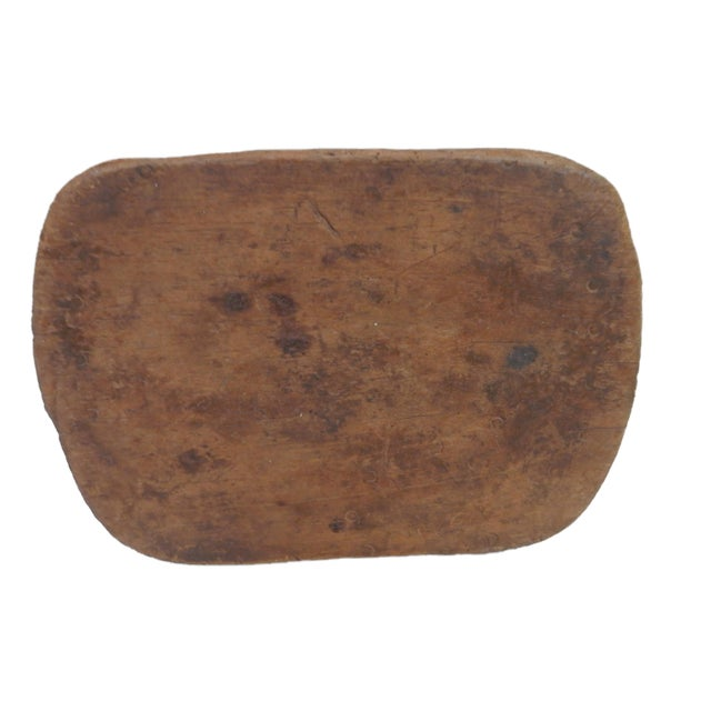Wood Bamileke Low Milk Stool Cameroon For Sale - Image 7 of 7