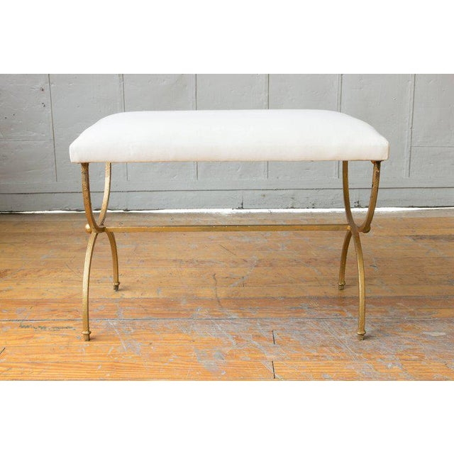 Gilt Iron Bench - Image 5 of 8