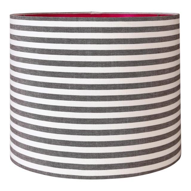 Maison Maison Striped Drum Lampshades For Sale