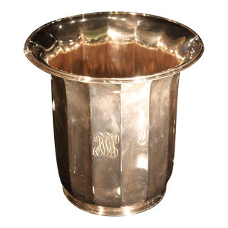 Tiffany Silver Plated Champagne Wine Bucket