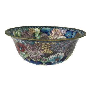 Antique Chinese Cloisonné Bowl