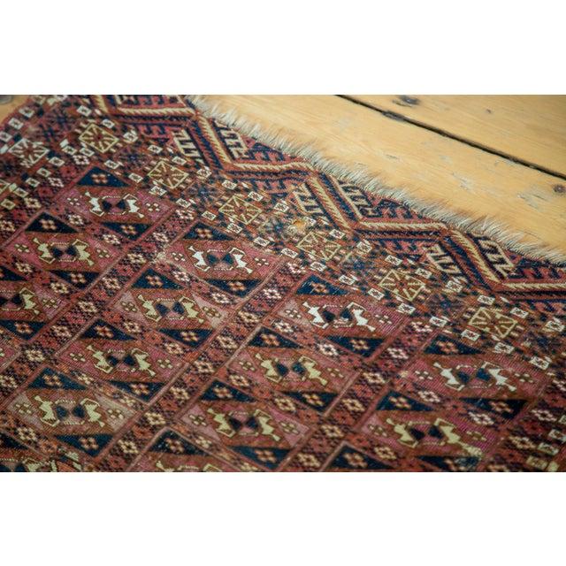 """Antique Turkmen Square Rug - 2'8"""" X 3'1"""" - Image 3 of 9"""