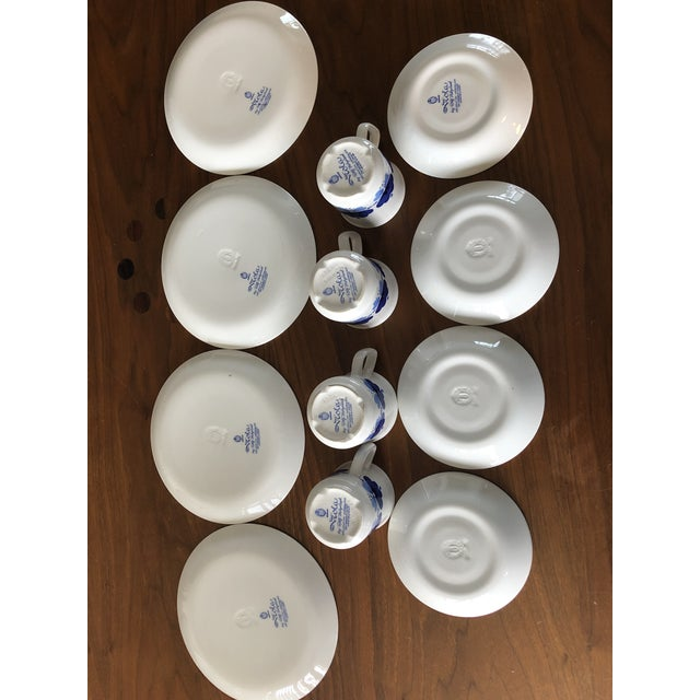 Stavangerflint by Rolf Froyland Cups, Saucers, and Small Plates - Set of 12 For Sale - Image 4 of 10