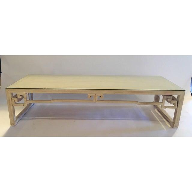 Vintage Keyhole Coffee Table - Image 3 of 7