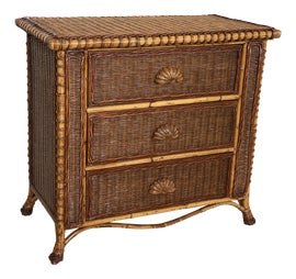 Image of Rattan Nightstands