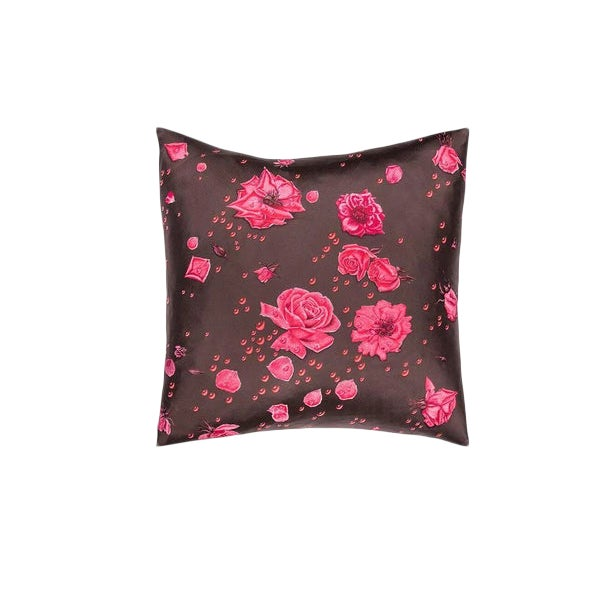 """La Rosee"" Hermès Silk Scarf Pillow For Sale"