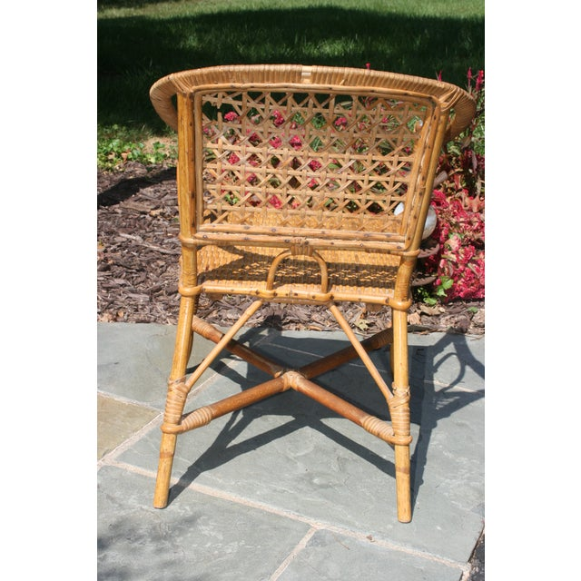 Children's Early 20th Century Antique Children's Cane Chair For Sale - Image 3 of 10