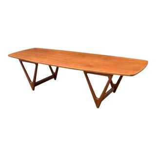 1960s Kurt Østervig for Jason Møbler Coffee Table For Sale