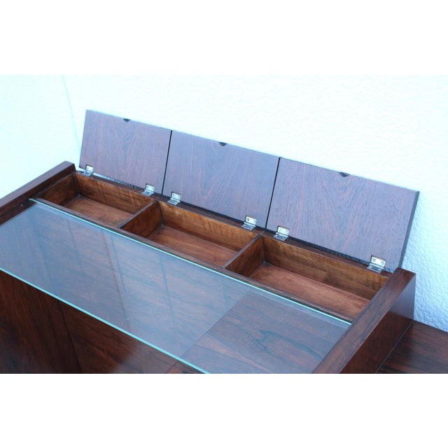 Mid 20th Century Gilbert Rohde for Herman Miller Rosewood Vanity For Sale - Image 5 of 13