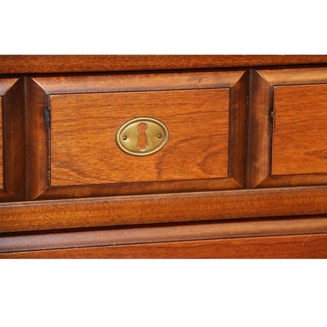 Brown Pair American Permacraft Bachelor's Chests For Sale - Image 8 of 12