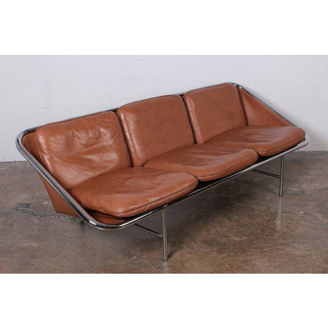 1960s Pair of Sling Sofas by George Nelson For Sale - Image 5 of 10