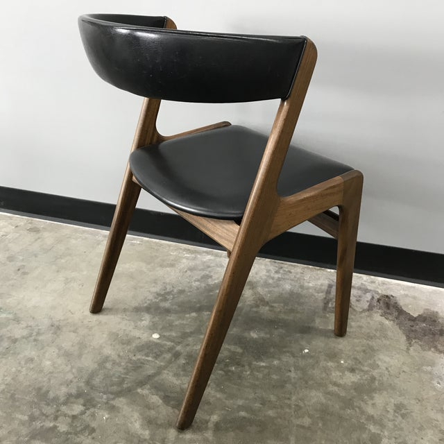 Set of 6 Kai Kristiansen Dining Chairs For Sale - Image 11 of 13