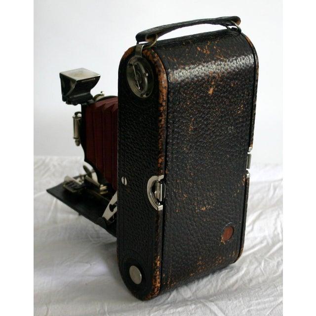 Kodak Red Bellow Folding Camera For Sale - Image 4 of 6