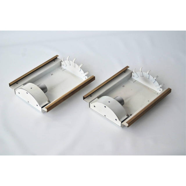 Metal Wall Lights by Doria For Sale - Image 7 of 9