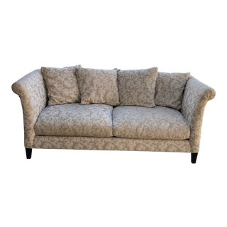 Shabby Chic Style Crate and Barrel Sofa For Sale