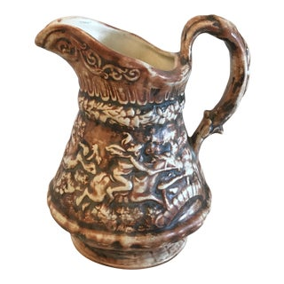 1966 Ceramic Pitcher Ewer For Sale