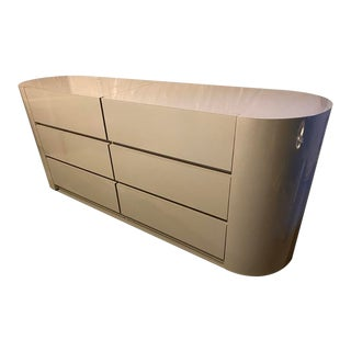1980s 6-Drawer Dresser For Sale