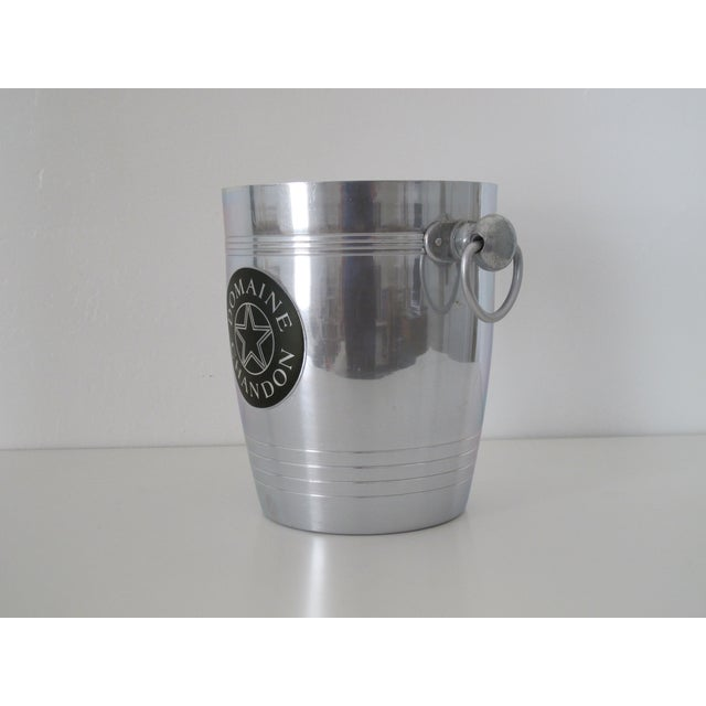 French Domaine Chandon Ice Bucket For Sale - Image 3 of 5